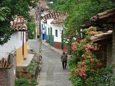 Quiet lanes of Santa Fe de Antioquia