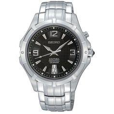Seiko Men's Stainless Steel Coutura Watch