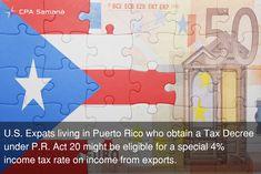 Puerto Rico Tax Incentives Act 20