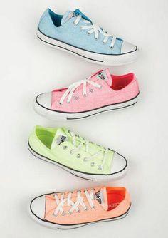 tenis# color# pastel# convers