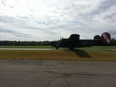 B-25 Mitchell at KMTV Blue Ridge airport in Martinsville, VA
