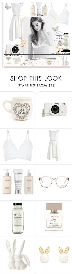 """SNOW WHITE"" by alongcametwiggy ❤ liked on Polyvore featuring Natural Life, Lomography, New Look, Chicwish, Elemis, Yves Saint Laurent, Bella Freud, Urban Outfitters, Lipsy and Hourglass Cosmetics"