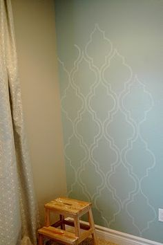 Looks like wallpaper but it isn't. I can't wait to try this at home.