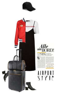"""""""Airport style #680 (TS 31-5-17)"""" by meryflower ❤ liked on Polyvore featuring Kenneth Cole, Love Moschino, STELLA McCARTNEY, Tommy Hilfiger, rag & bone, airportstyle, LoveMoschino, tshirtdresses, 60secondstyle and summerbooties"""