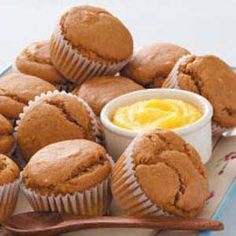 Gingerbread Muffins Recipe; I am still looking for the *perfect* gingerbread muffin recipe--like the ones we had at that Bed and Breakfast fifteen years ago.  This isn't quite it, but it's awfully close.