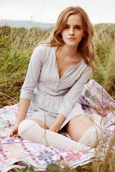 Emma Watson - A fashion pioneer as well as a Fairtrade Activist. One of my heroes. Love her.