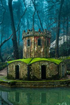 Ancient Tower, Sintra, Portugal. The best thing about Portugal is that despite…
