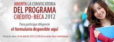 Abierta la Convocatoria del Programa Crédito-Beca 2012 de Colfuturo