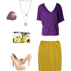 Bright work clothes my-style