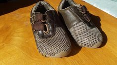 Brown Walker Baby Shoes UK 5 / EU 22 12-24 Months in mint condition