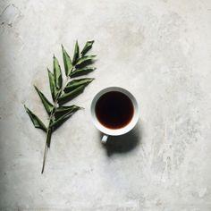 Coffee ritual.
