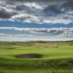 """The most fun I've ever had playing golf."" - Tom Watson #linksgolf #travelscotland #golftrip #dornoch"
