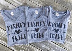 Disney Tribe Shirt / Disney World Shirt / Disneyland Shirt / Marching Disney Family Shirts / Matching Friends Shirt Family Vacation Shirts, Disney Shirts For Family, Disney Family, Family Shirts, Couple Shirts, Disney Trips, Disney Cruise, Disneyland Trip, Cruise Vacation