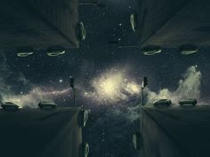 Parallel Universe by Ahmed Emad Eldin, via Behance