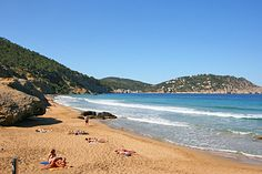 AGUAS BLANCAS, San Carlos If you're heading down to this beach you should be warned that it's one of Ibiza's official nudist beaches so don't be surprised if get an eyeful of more