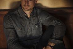 // Larson Stripe Denim // Model: Daniel Roberts