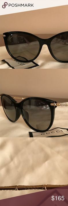 Made in Italy. Comes with a case but not Gucci original case. Otherwise, it is authentic. Gucci Accessories, Sunglasses Accessories, Gucci Cat Eye Sunglasses, Michael Kors Men, Fossil Watches, Fashion Rings, Watches For Men, Eye Frames, Italy
