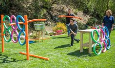 Home & Family - Tips & Products - Mark's DIY Pool Noodle Javalin Toss | Hallmark Channel