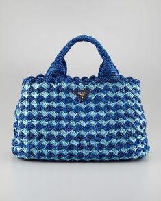 46f275ea828b Crochet Look A-Like PRADA BAG Handbag Video Tutorial from BAG-O-DAY CROCHET  & MORE | Crochet Bag | Crochet bag tutorials, DIY crochet purse, Crochet ...