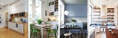 шкафы до потолков на кухне