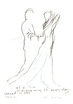 Runi Langum - A big Love - utsolgt Big Love, Fine Art, Kunst, Visual Arts