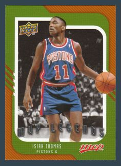 Isiah Thomas # 248 - 2008-09 Upper Deck MVP Basketball