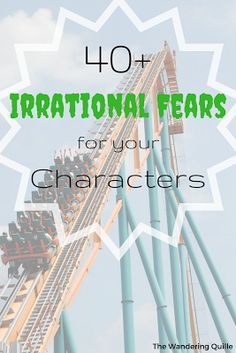 What Are You Afraid Of? - 40+ Irrational fears for your characters