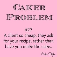 Custom cakes cost a lot. Or so you think. Most decorators earn close… Cake Quotes, Food Quotes, Cake Sayings, Baking Soda Health Benefits, Bakers Oven, Problem Quotes, Baking Quotes, Instagram Cake, Funny Cake