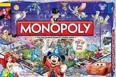 Amazon.com: Disney Theme Park Monopoly Board Game. Own it All As You Buy Your Favorite Disney Attractions. Disney Theme Park Edition III. Features Pop Up Disney Castle: Toys & Games Monopoly Theme, Monopoly Board, Disney Home, Board Games, Your Favorite, Best Gifts, Christmas Ornaments, Park, Nostalgia