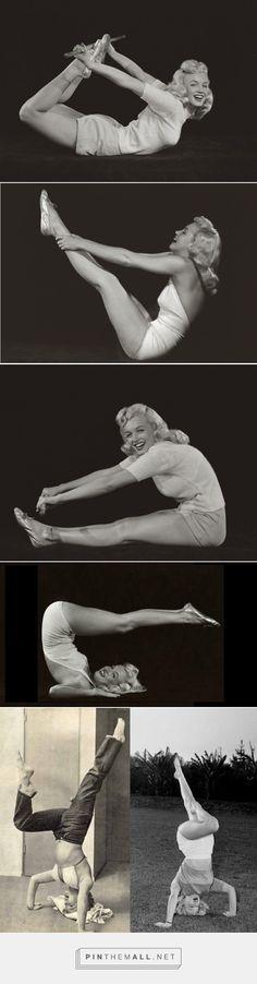 Marilyn Monroe: Yoga Superstar - created via http://pinthemall.net