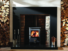Pefect for smaller fireplaces this gorgeous woodburner is very efficient and still packs a punch. #fireplace #chillipenguin #fireplaces #stove #woodburner #woodburningstove #stalbans#homedecor #fireplaceshowroom Fireplace Showroom, Stove Parts, Wood Fuel, Water Boiler, Small Fireplace, Huge Windows, Wood Burner, Hearth, Penguins