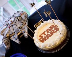 Turning 30, Star Wars Style. What an impressive cake for a Star Wars birthday.