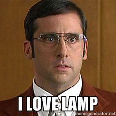 I love lamp. I love lamp.