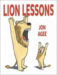 Learning to be a lion takes some serious lessons, but luckily, this kid has a teacher who is a real pro.