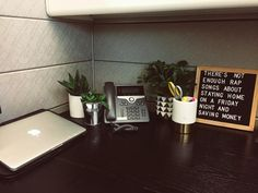 How i decorated my Office Cubical with Removable Wallpaper. decor cubicle Easy Cubicle Decor to Make You Feel Right at Home desk decor for work cubicle Work Cubicle Decor, Work Desk Decor, Cubicle Design, Office Organization At Work, Home Office Decor, Decorate Desk At Work, Decorating Office At Work, Office Ideas For Work Business Decor, Office Cubicle Decorations