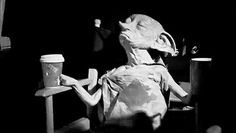 Dobby Behind the Scenes of Harry Potter and the Deathly Hallows Part 1