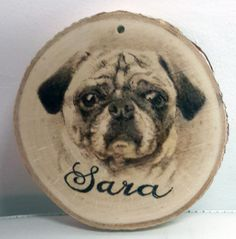 A small Christmas Ornament I made for a friend of a dog that passed away. #kreepykentucky
