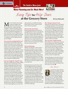 Easy Tips to Help Save at the Grocery Store by: Lisa Holcomb--Molly Green - Fall 2015 - Page 56 http://www.mollygreenonline.com/mollygreen/fall_2015?pm=1&u1=texterity&linkImageSrc=/mollygreen/fall_2015/data/imgpages/tn/0043_xejglc.gif/&pg=57#pg57