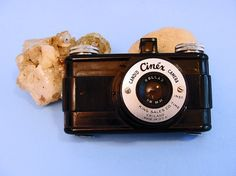 Cinex Candid Camera 1950's King Sales Chicago Rollax 50 mm 127 Film Bakelite Body Vintage Man's Gift Father's Day