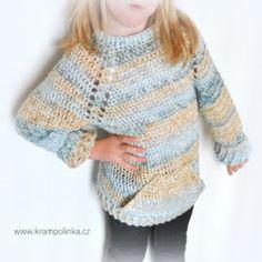 Dětský svetřík od podzimu do jara - www.krampolinka.cz Soft Colors, Desi, Pullover, Unisex, Sweaters, Cotton, Fashion, Soothing Colors, Moda