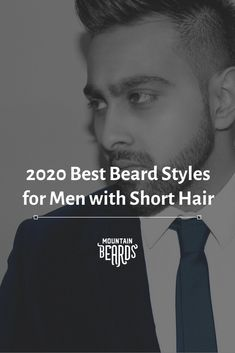 Basic style fact: beards are going to look different on men with short hair than they would on men with long hair. As a result, finding the right beard look can be a challenge. Beard Trimming Guide, Beard Trimming Styles, Beard Styles For Men, Trim Beard Neckline, Beard Styles Pictures, Short Hair With Beard, Beard Look, Short Men, Perfect Beard