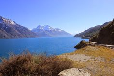 A working holiday - Australia & New Zealand: lake Wakatipu & the crown range