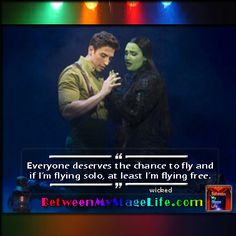 When was the last time you flew? What's keeping you grounded? #newheights #wicked http://BetweenMyStageLife.com
