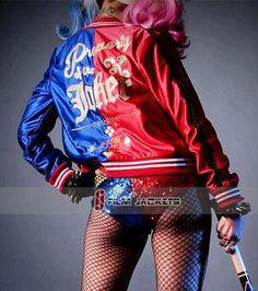 DC Comics Suicide Squad Harley Quinn Jacket