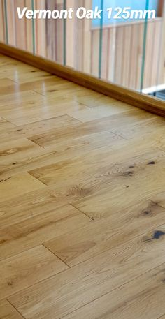 Vermont Hardwood oak flooring is engineered oak with a semi sheen finish. Available from our Showrooms and online.