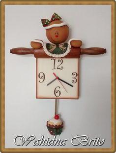 Relógio Ginger com pêndulo