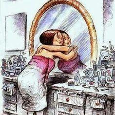 Quierete mucho, !Valorate! es la ùnica forma de querer bien a los demás . Feliz dia Mujer