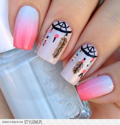 Need some nail art inspiration? Get ready for some manicure magic as we bring you the hottest nail designs from celebrities, beauty brands and the catwalks. Check out the cute, quirky, and incredibly unique nail art designs that are inspiring the hottest Trendy Nail Art, Cute Nail Art, Beautiful Nail Art, Beautiful Images, Fabulous Nails, Gorgeous Nails, Love Nails, Dream Nails, Pretty Nail Designs