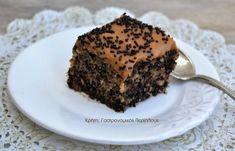 cretangastronomy.gr - Μυρμηγκάτο κέικ με επικάλυψη καραμέλας γάλακτος Food And Drink, Cake, Desserts, Tailgate Desserts, Deserts, Kuchen, Postres, Dessert, Torte
