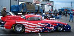 Red, White & Blue Corvette